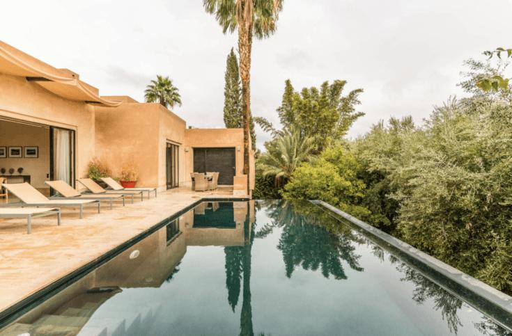 8. amazing villa surrounded by lush nature