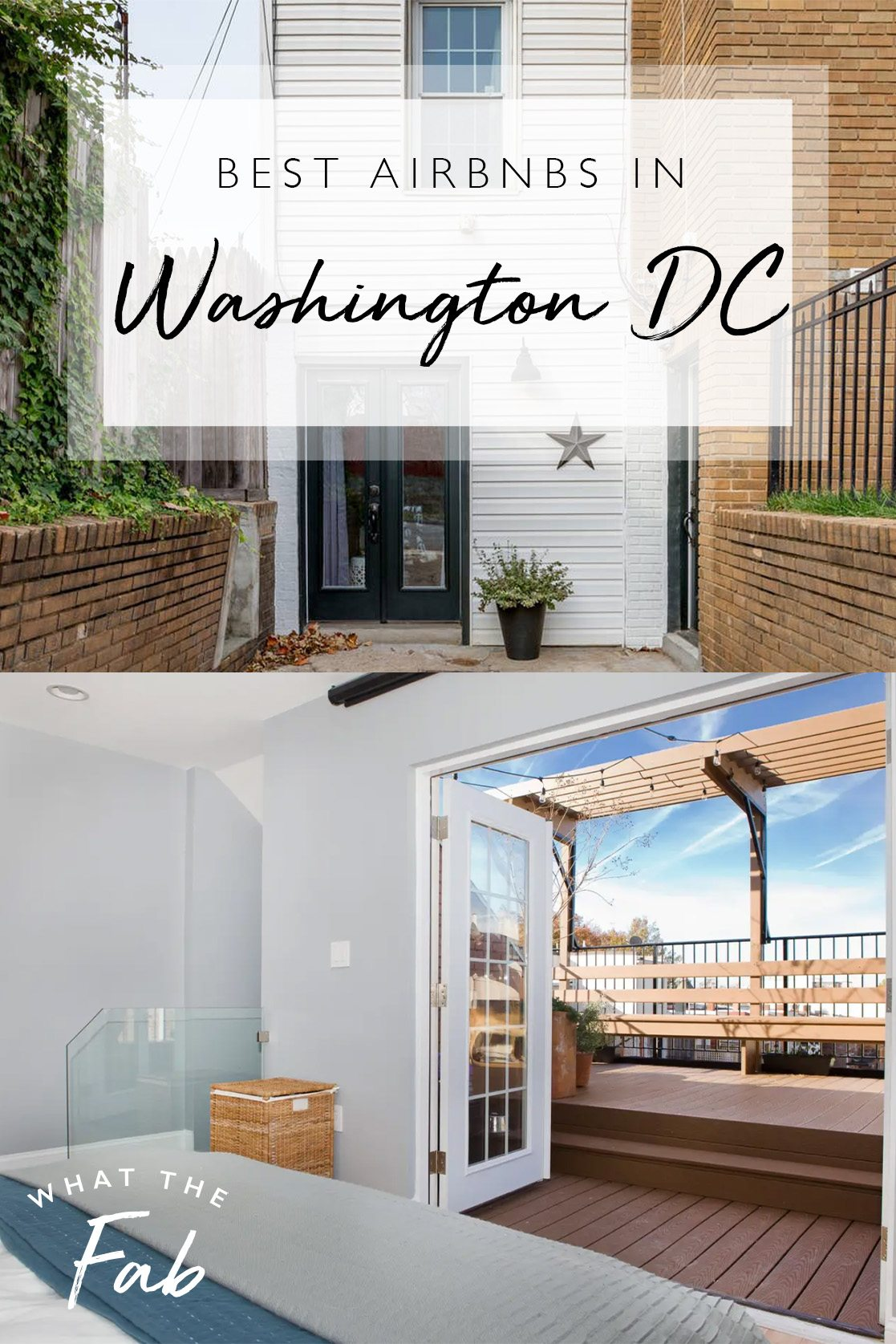 Airbnb Washington DC, by Travel Blogger What The Fab