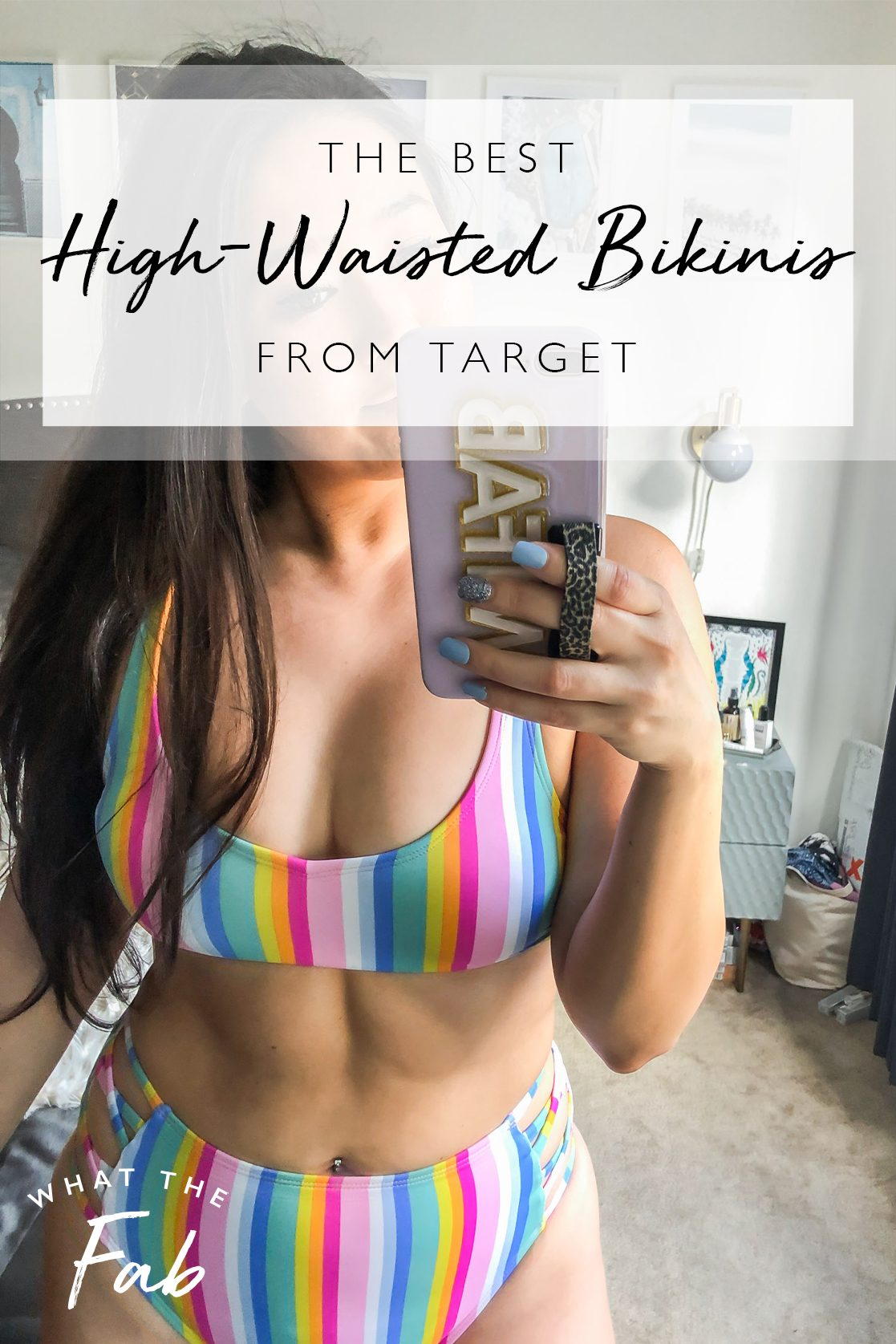 The best high waisted bikinis, by style blogger What The Fab