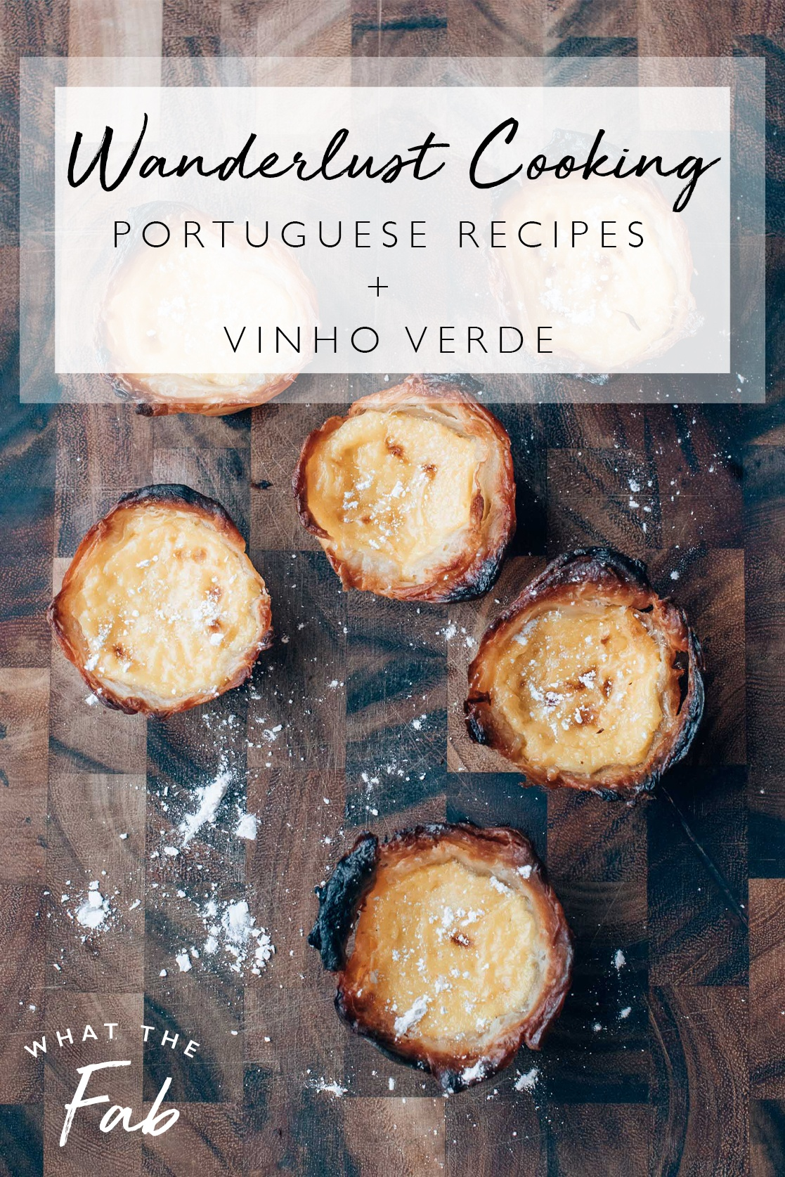 Portuguese Recipes, by blogger What The Fab