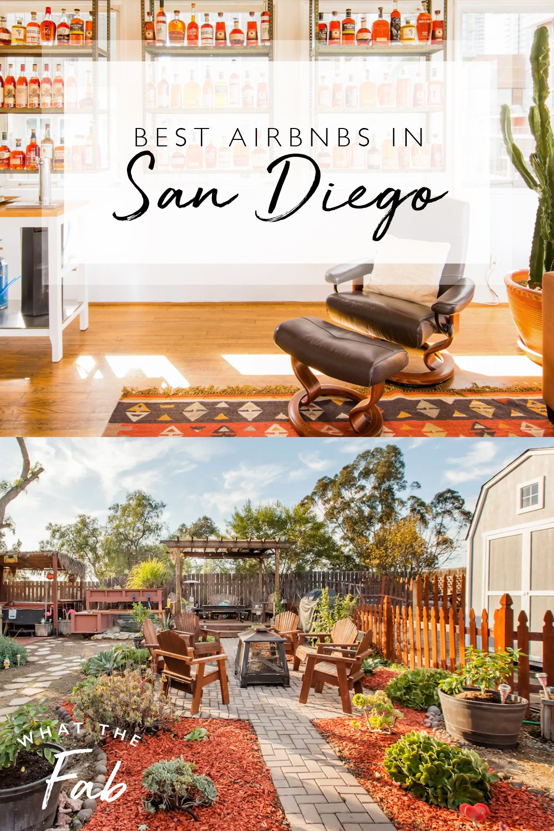 Best Airbnb San Diego, by travel blogger What The Fab