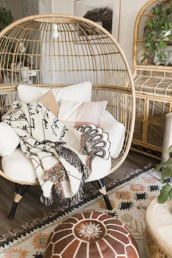 target egg chair dupes, by lifestyle blogger What The Fab