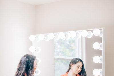 Makeup Vanity Organization