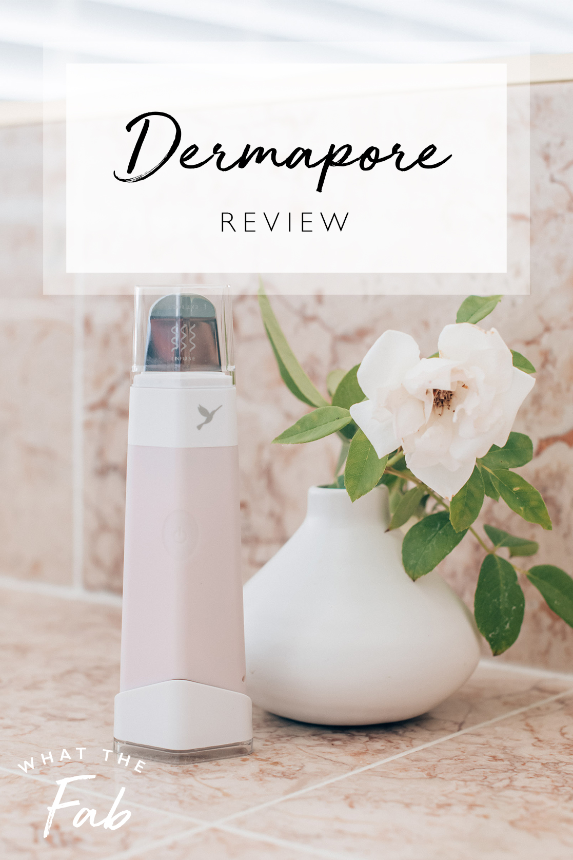Dermapore review, by beauty blogger What The Fab