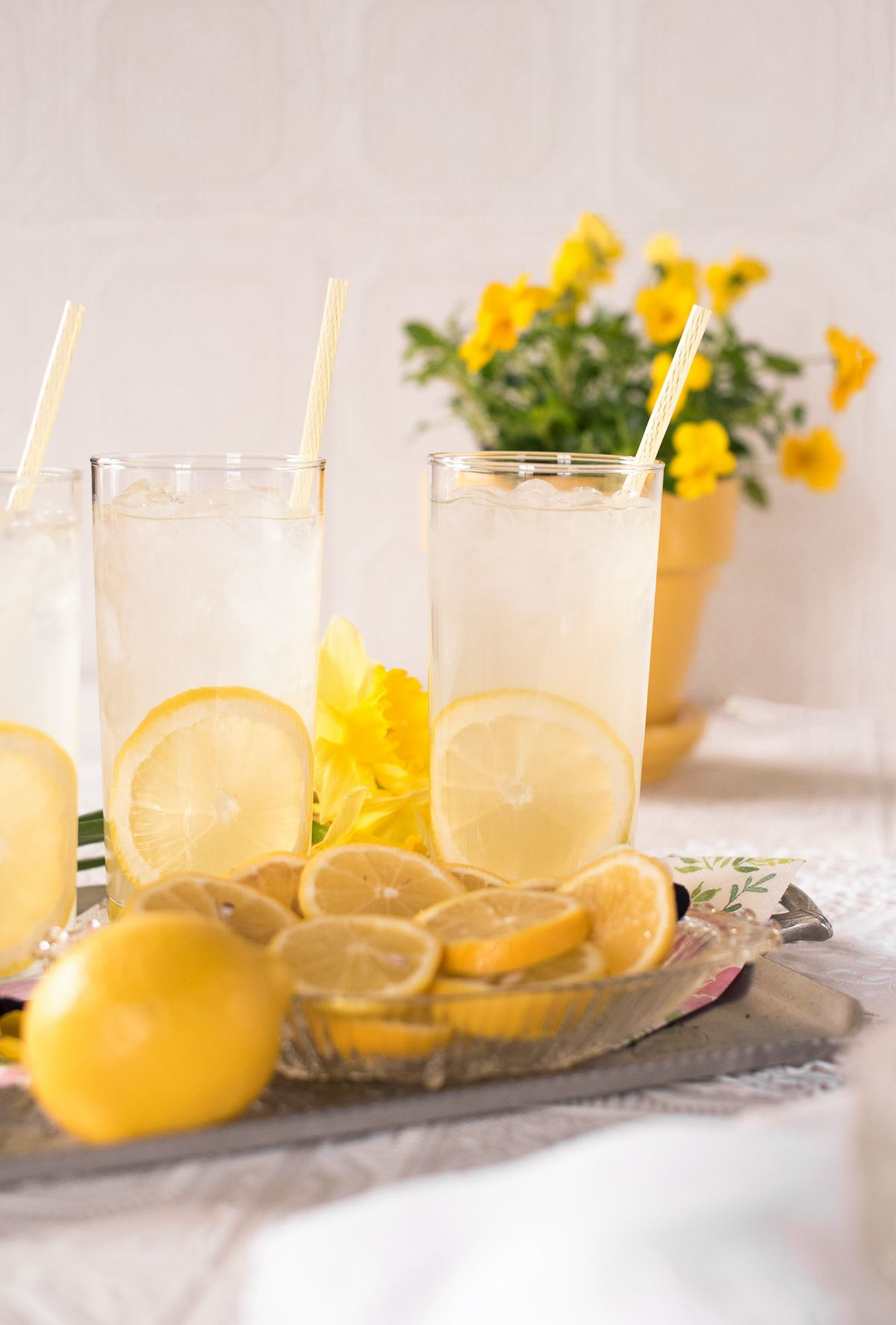 Lemon lime simple syrup recipe, by lifestyle blogger What The Fab
