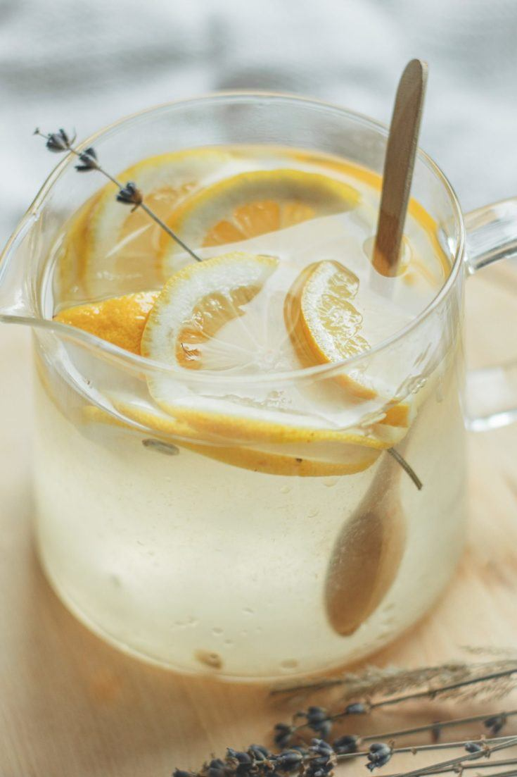 Lemon lime simple syrup, by lifestyle blogger What The Fab