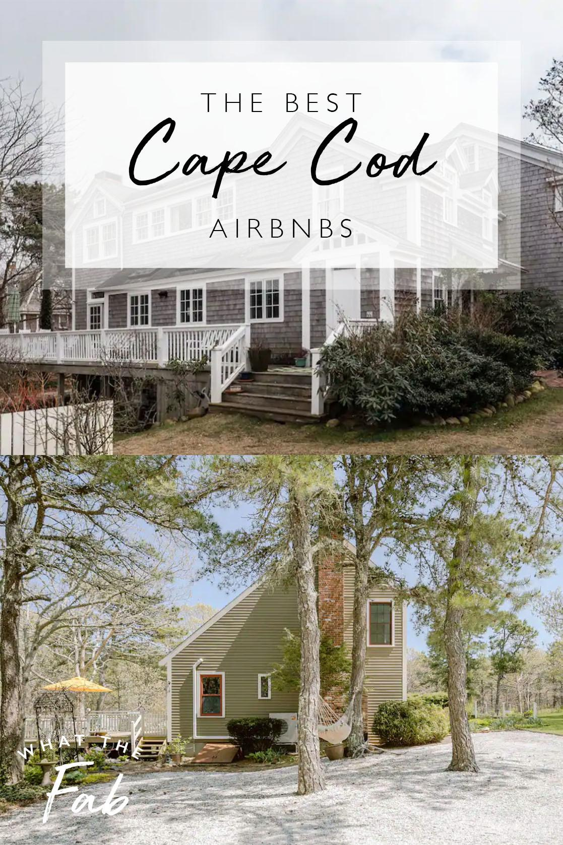 The best Cape Code Airbnbs, by travel blogger What The Fab