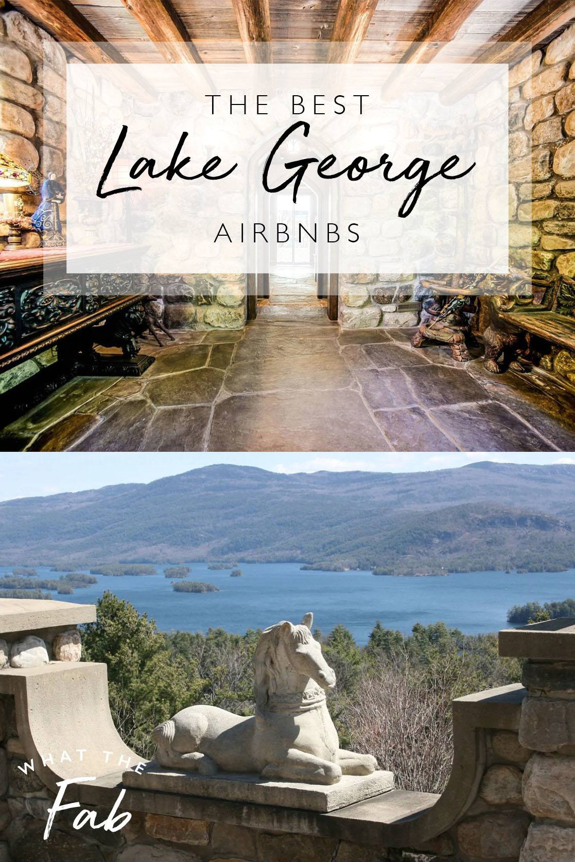 Lake George Airbnb, by Travel Blogger What The Fab