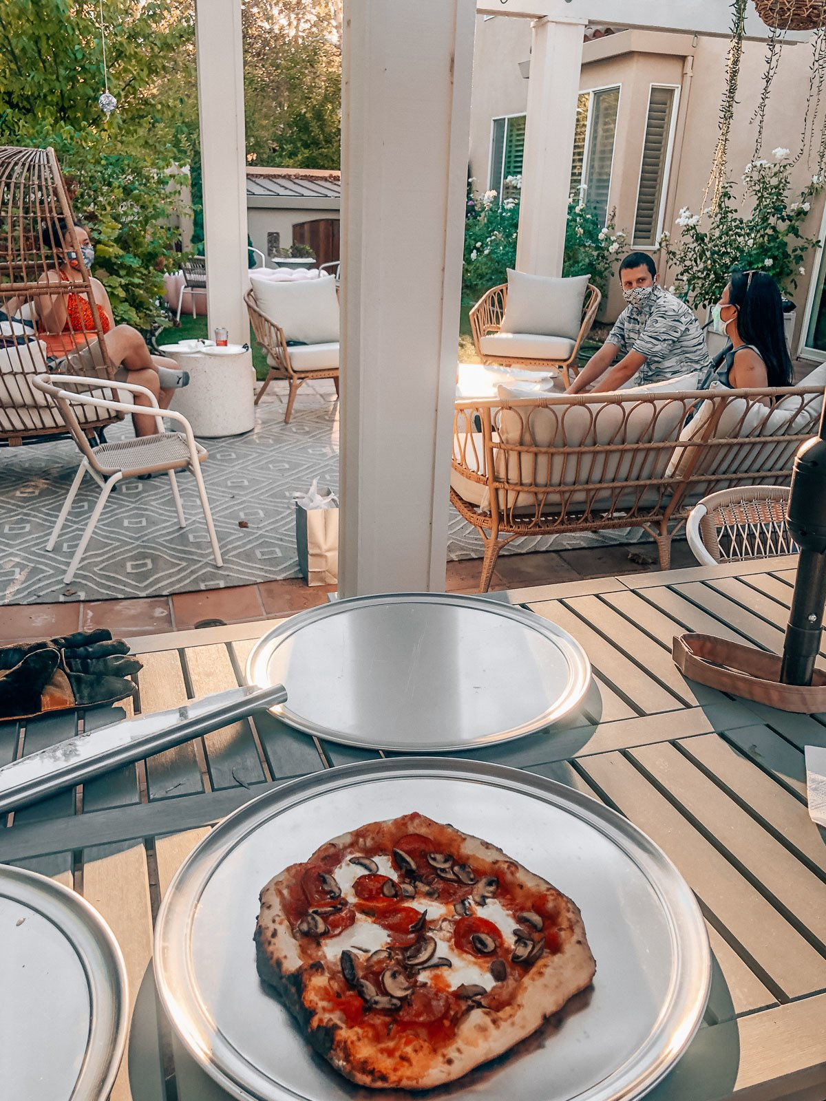 Ooni Pro review and pizza recipes, by lifestyle blogger What The Fab
