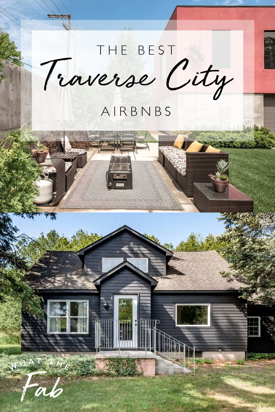The best Traverse City Airbnbs, by travel blogger What The Fab