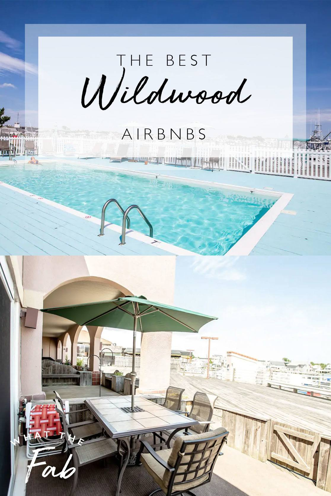 Airbnb Wildwood NJ, by Travel Blogger What The Fab