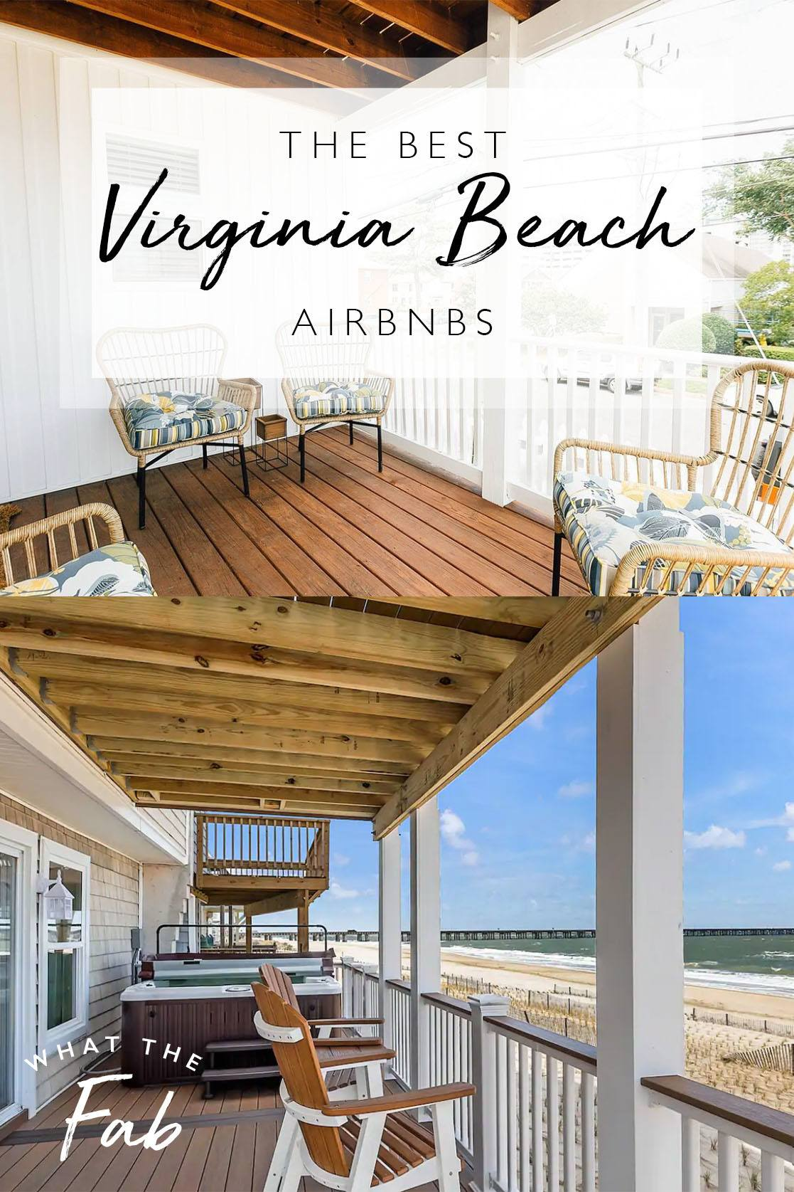 Airbnb Virginia Beach, by Travel Blogger What The Fab