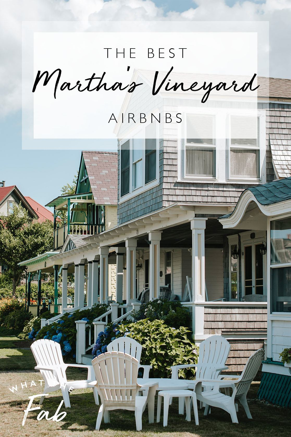 Airbnb Martha's Vineyard, by Travel Blogger What The Fab