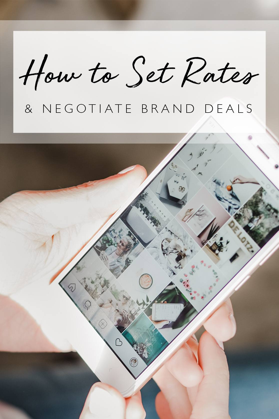 How much to charge for instagram post, by lifestyle blogger What The Fab