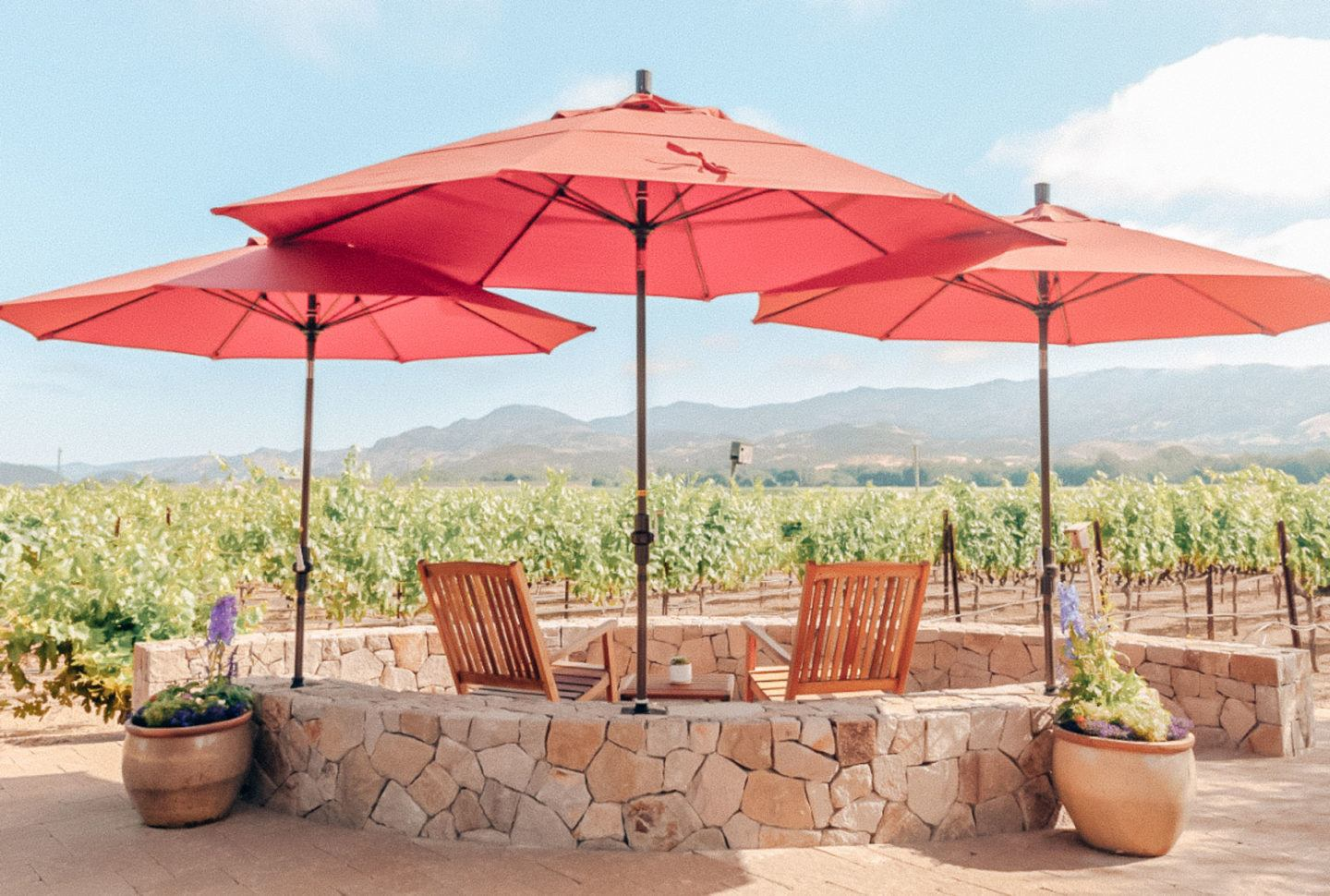 The best outdoor wine tasting in Napa, by travel blogger What The Fab