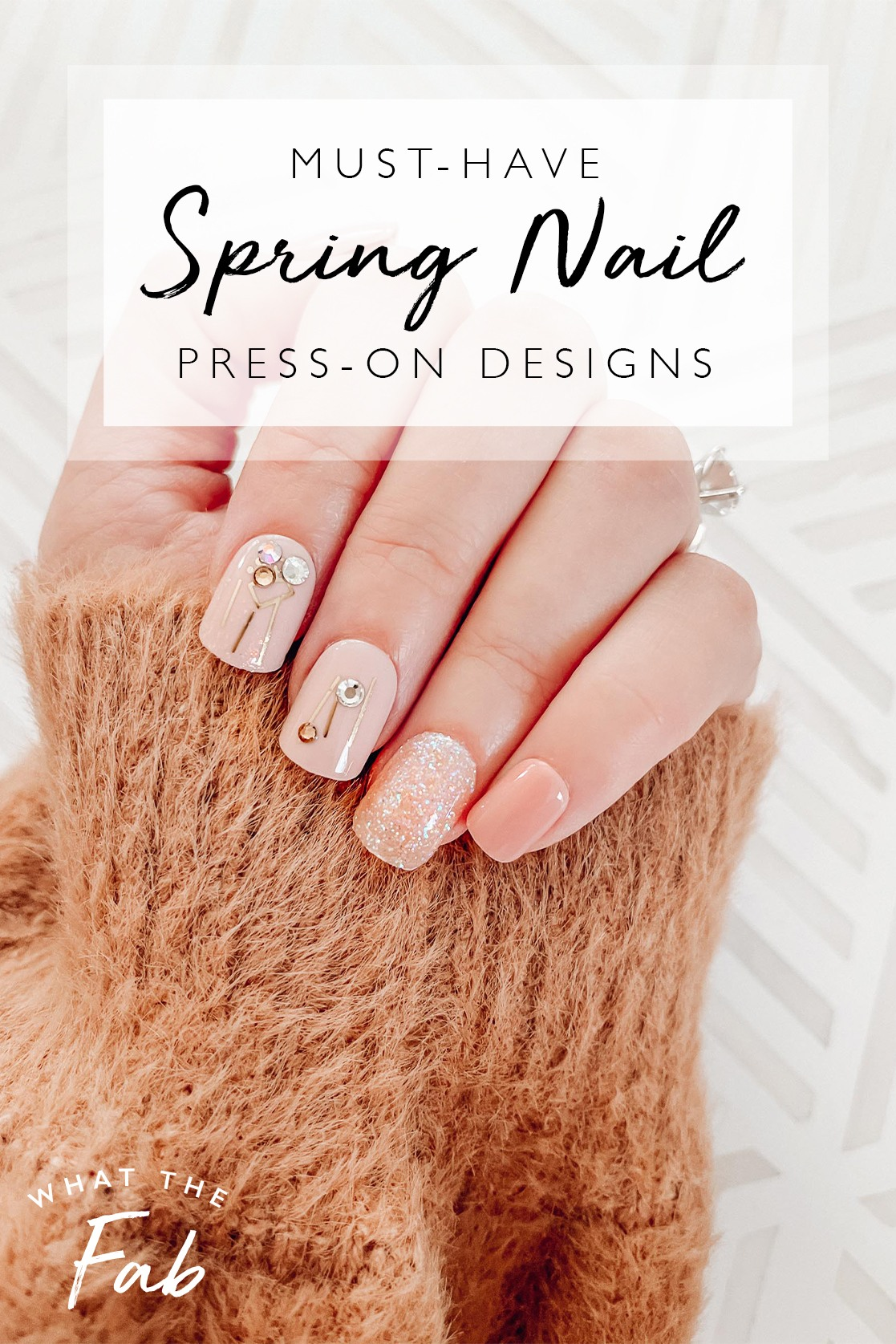 Cute Spring Nails to try this year by Travel Blogger What The Fab