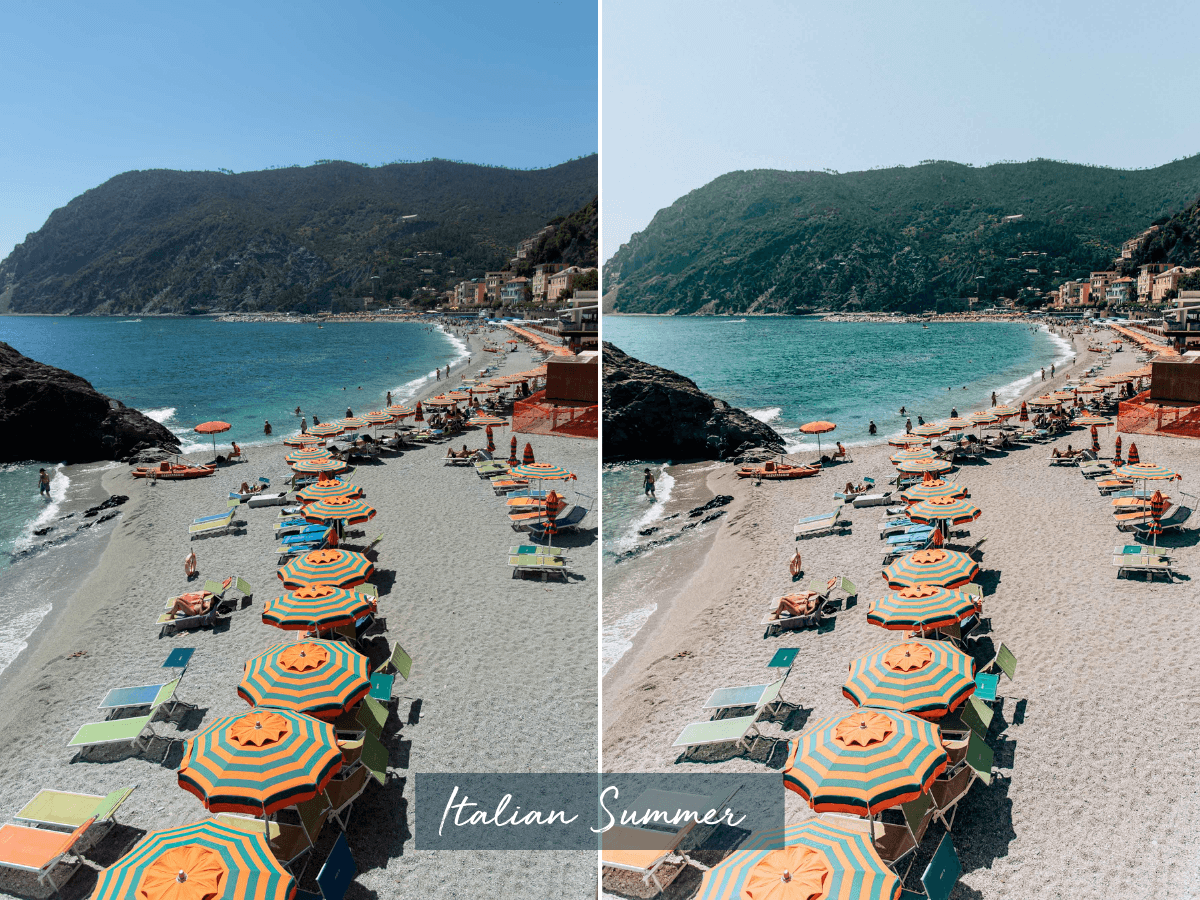 Mobile lightroom presets, by travel blogger What The Fab