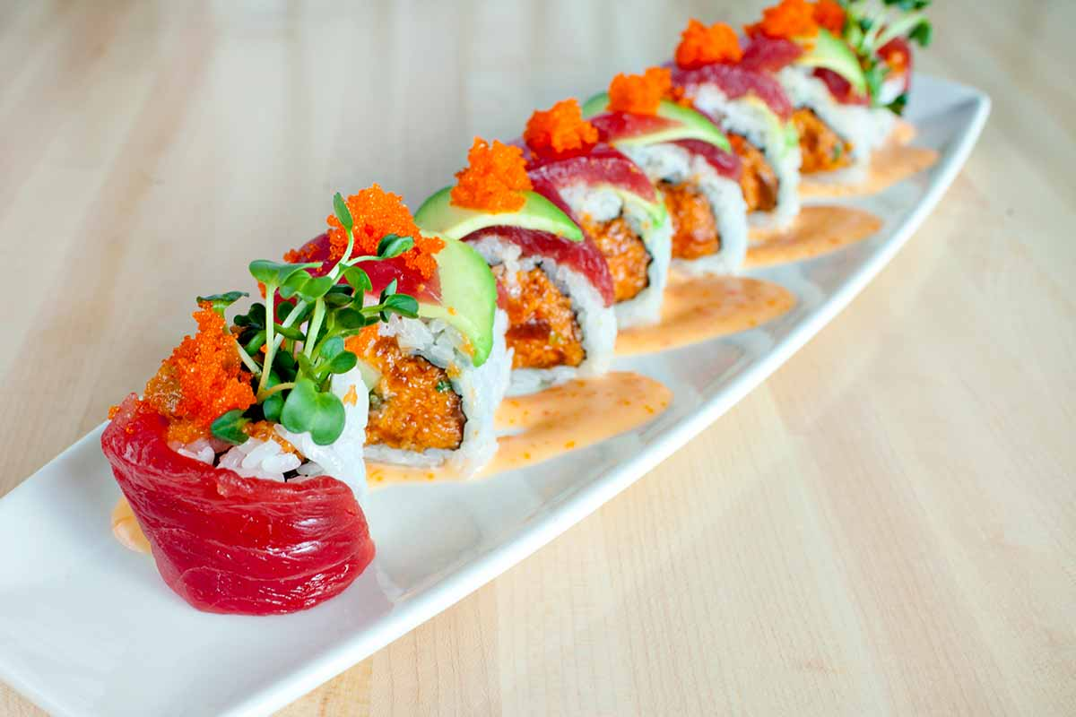 The best sushi in Maui, by travel blogger What The Fab