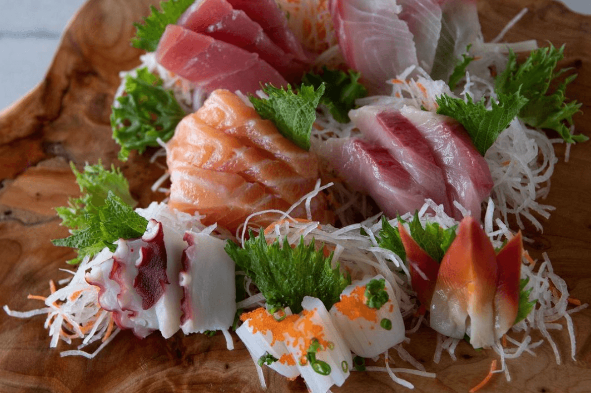 Traditional Japanese sushi in Maui, by travel blogger What The Fab