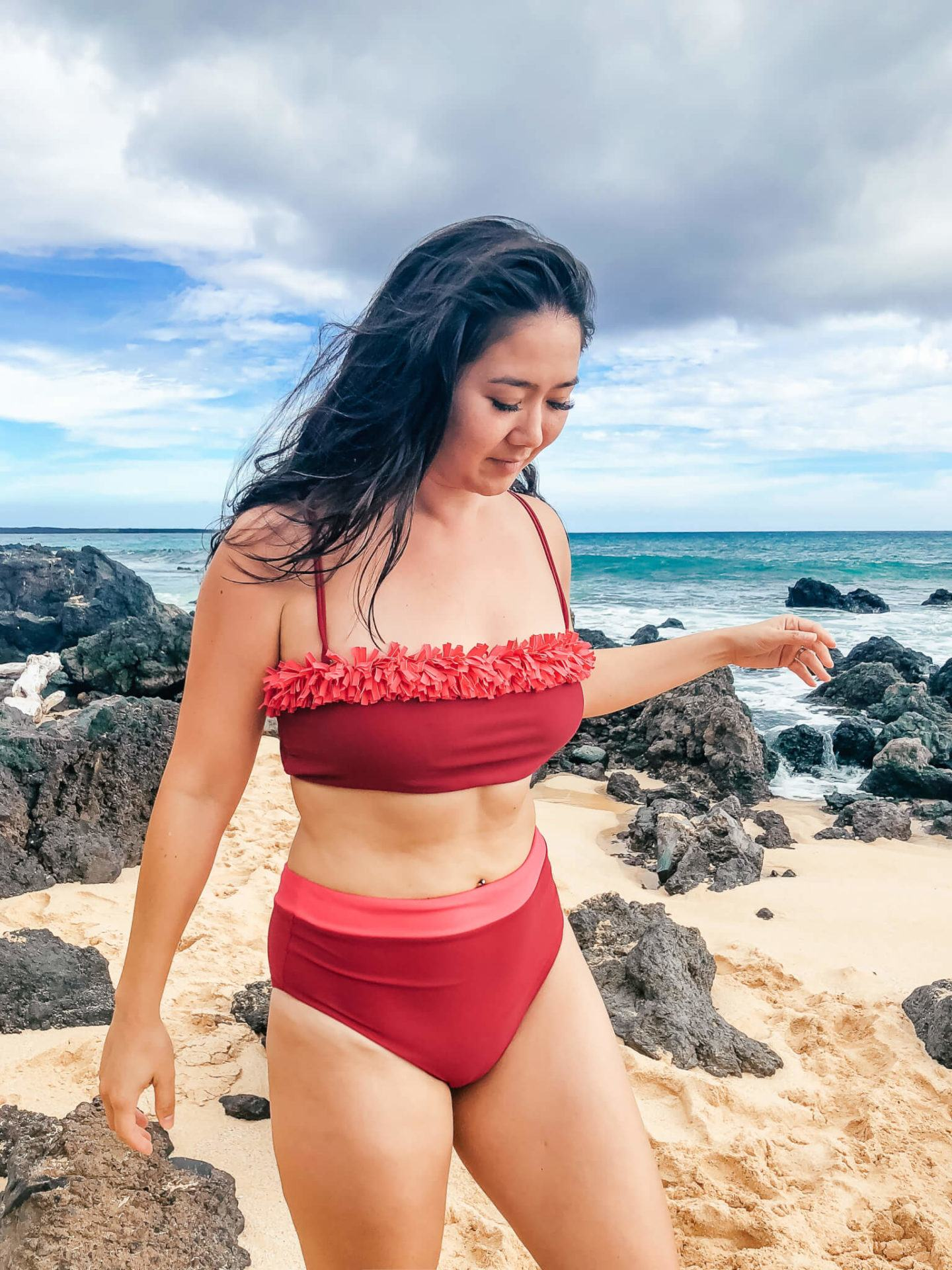 Summersalt swimwear review, by travel blogger What The Fab