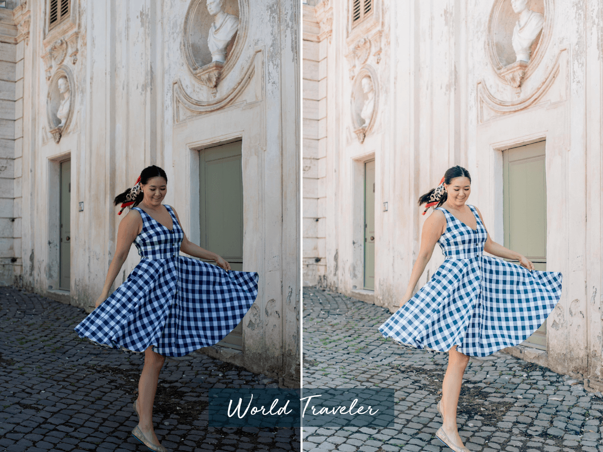 Professional Lightroom presets, by lifestyle blogger What The Fab
