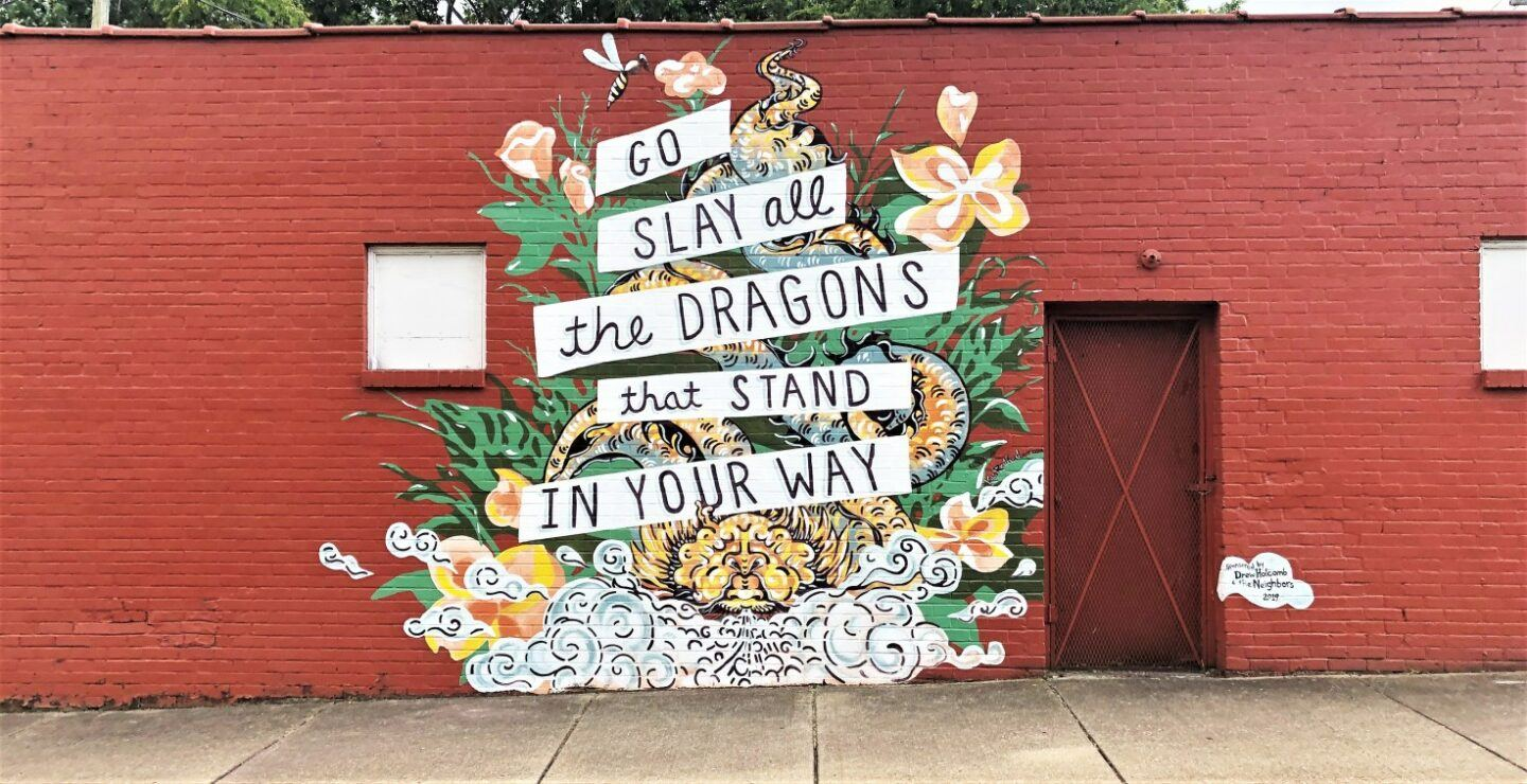 Must-see Nashville murals, by travel blogger What The Fab
