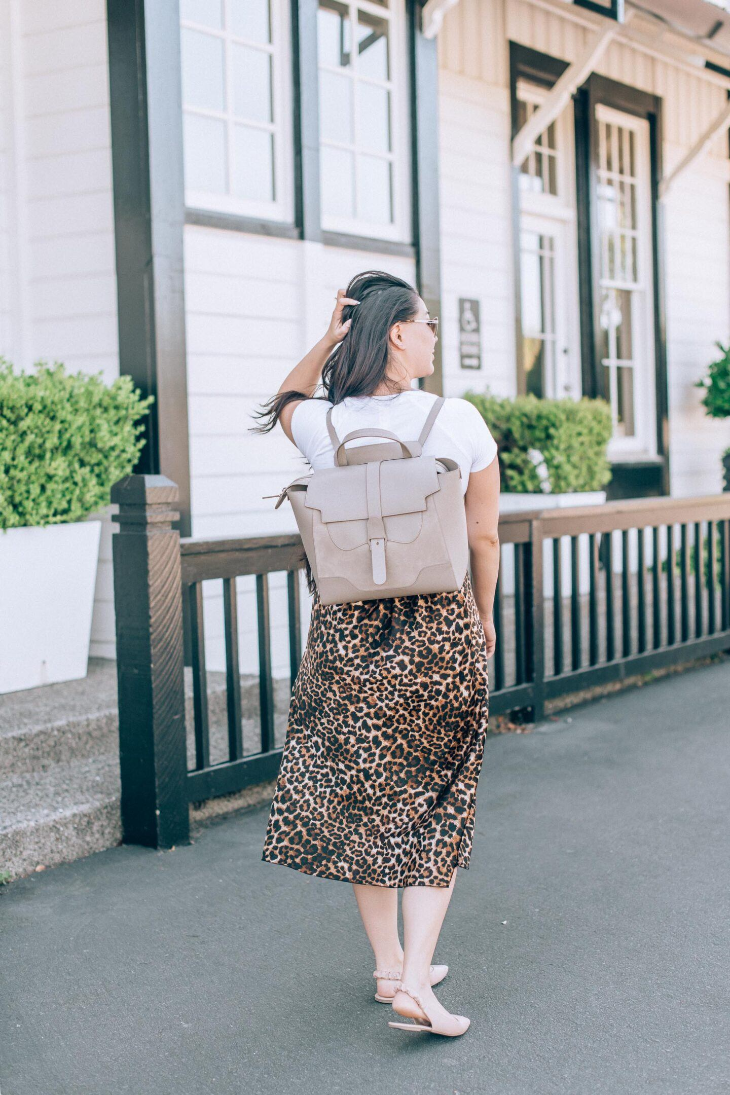 Senreve Maestra bag review, by fashion blogger What The Fab