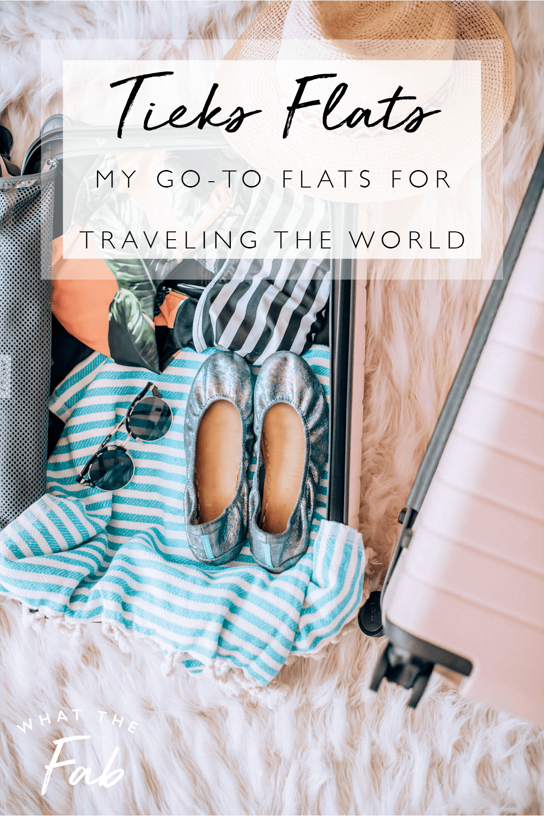 My go-to Tieks flats for traveling the world, by Travel Blogger What The Fab