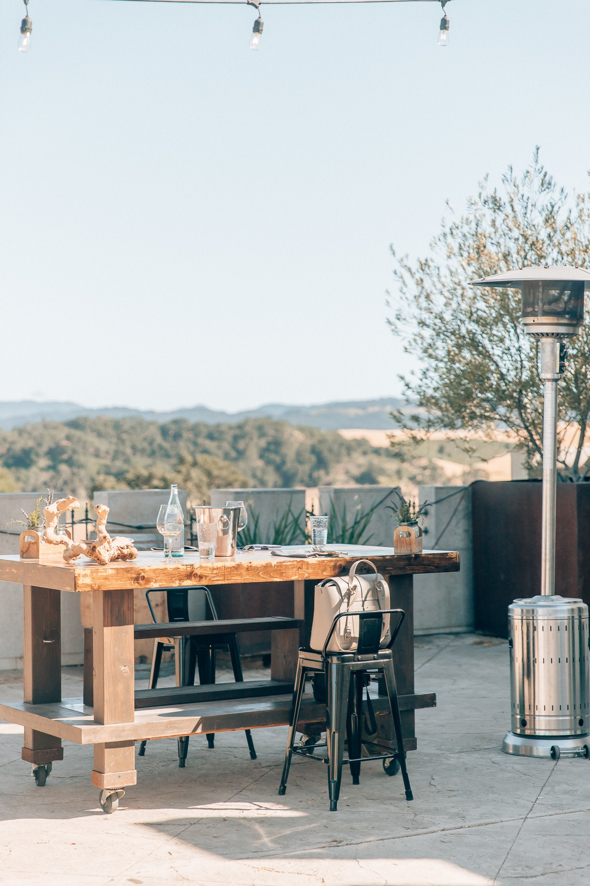 Wine tasting at Tooth and Nail Winery, by travel blogger What The Fab
