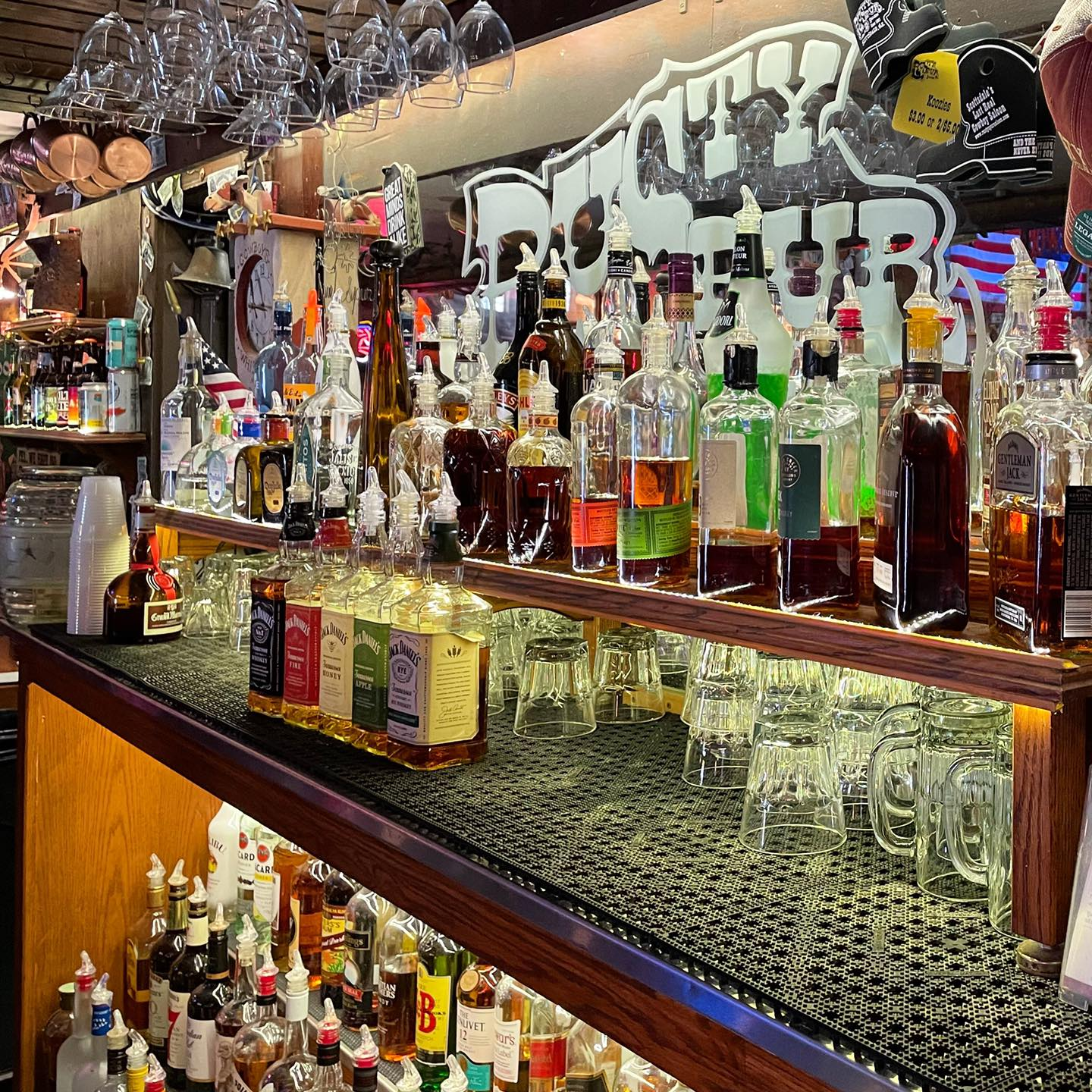 Bars in Old Town Scottsdale, by Blogger What The Fab