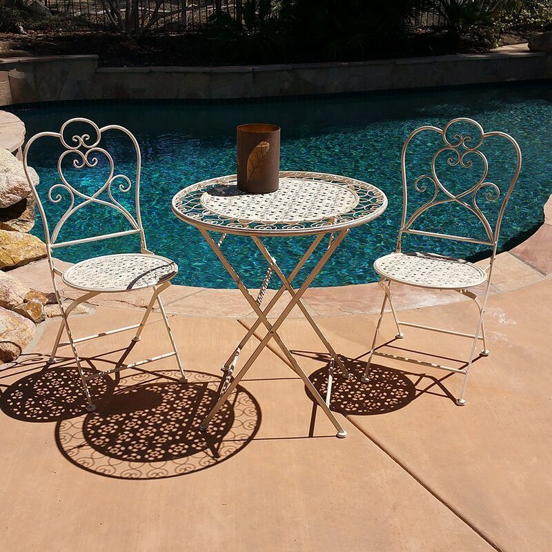 Garden Bistro Set, by Blogger What The Fab