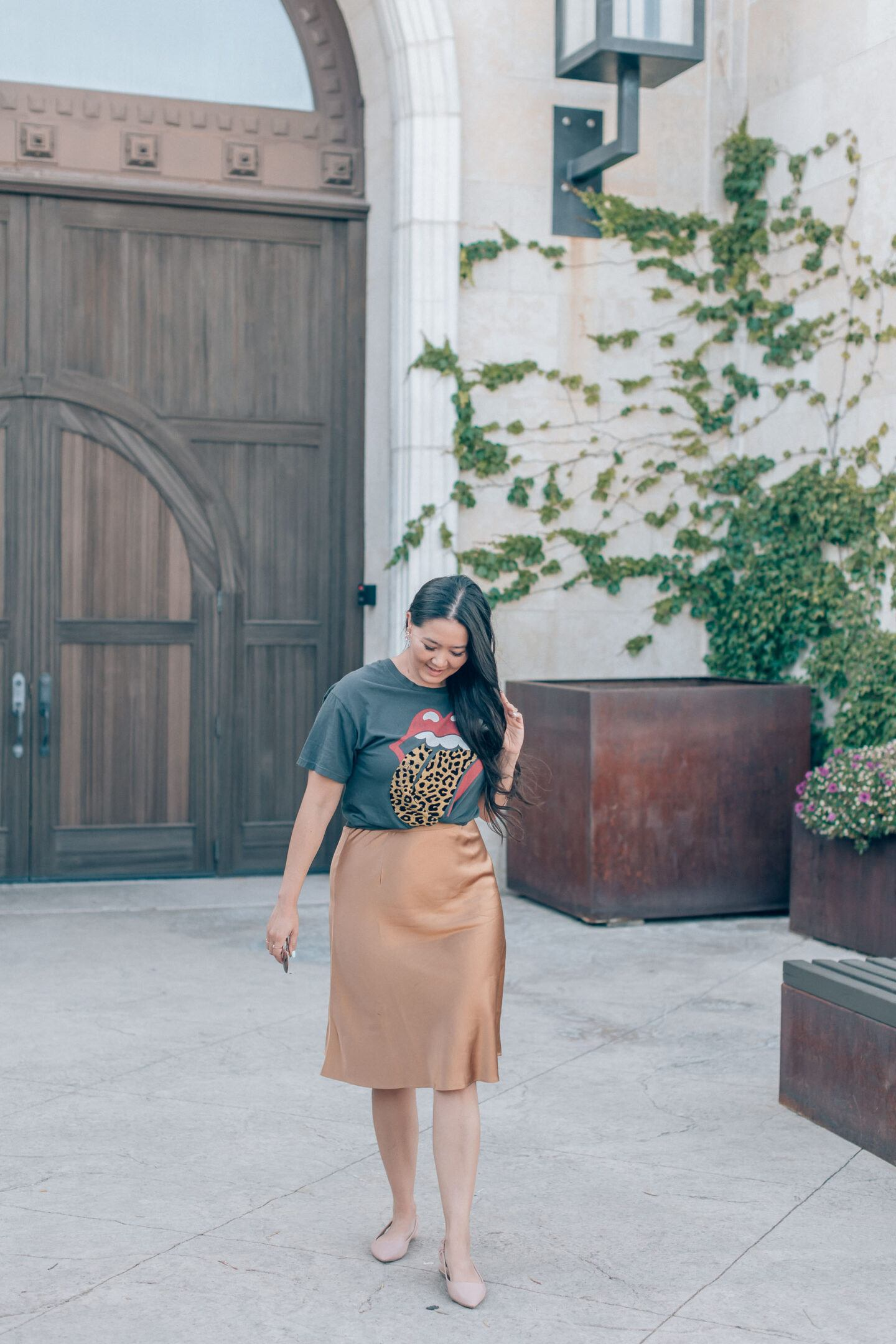 Paso Robles wine tasting outfit, by style blogger What The Fab