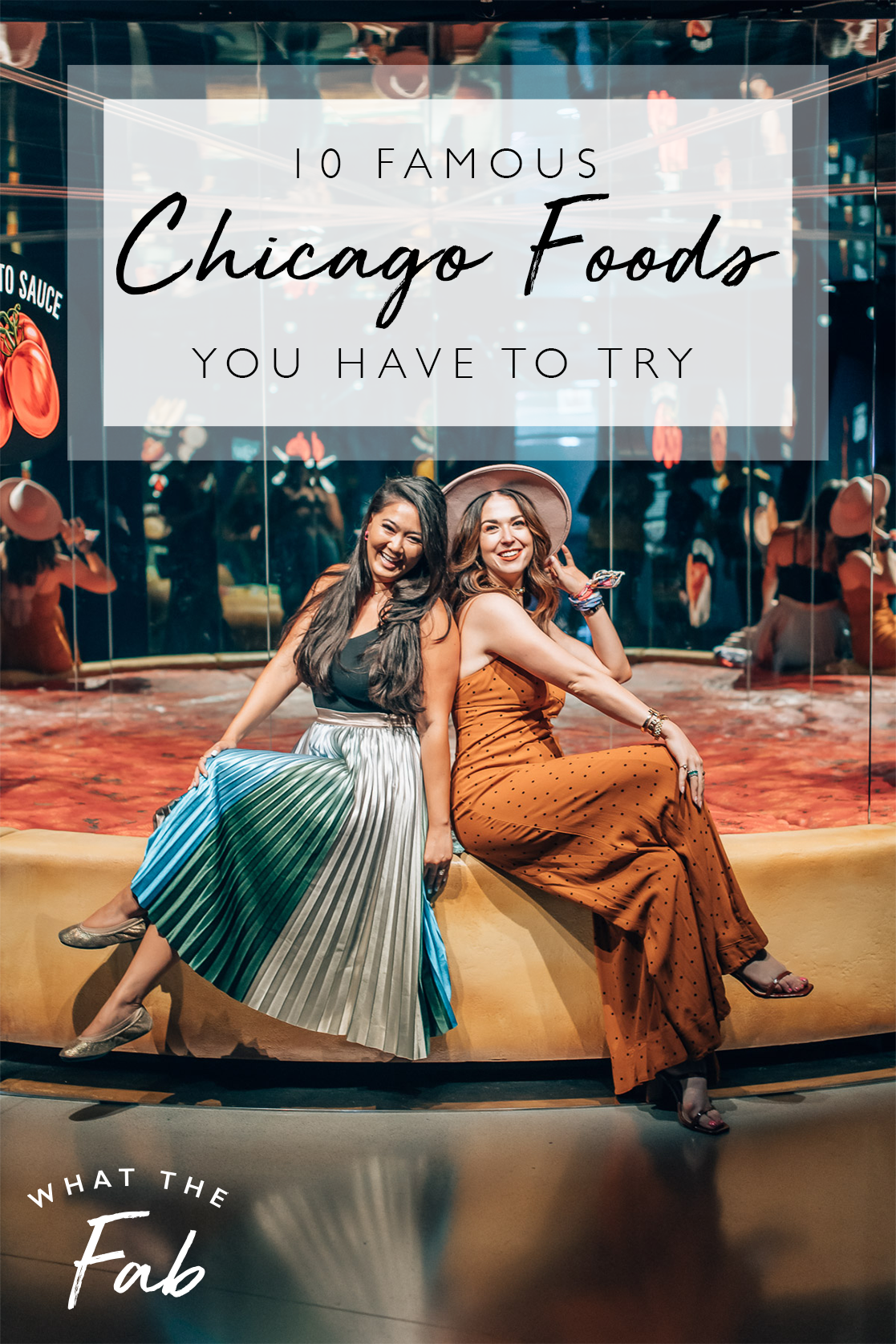 Famous Chicago Food, by Travel Blogger What The Fab